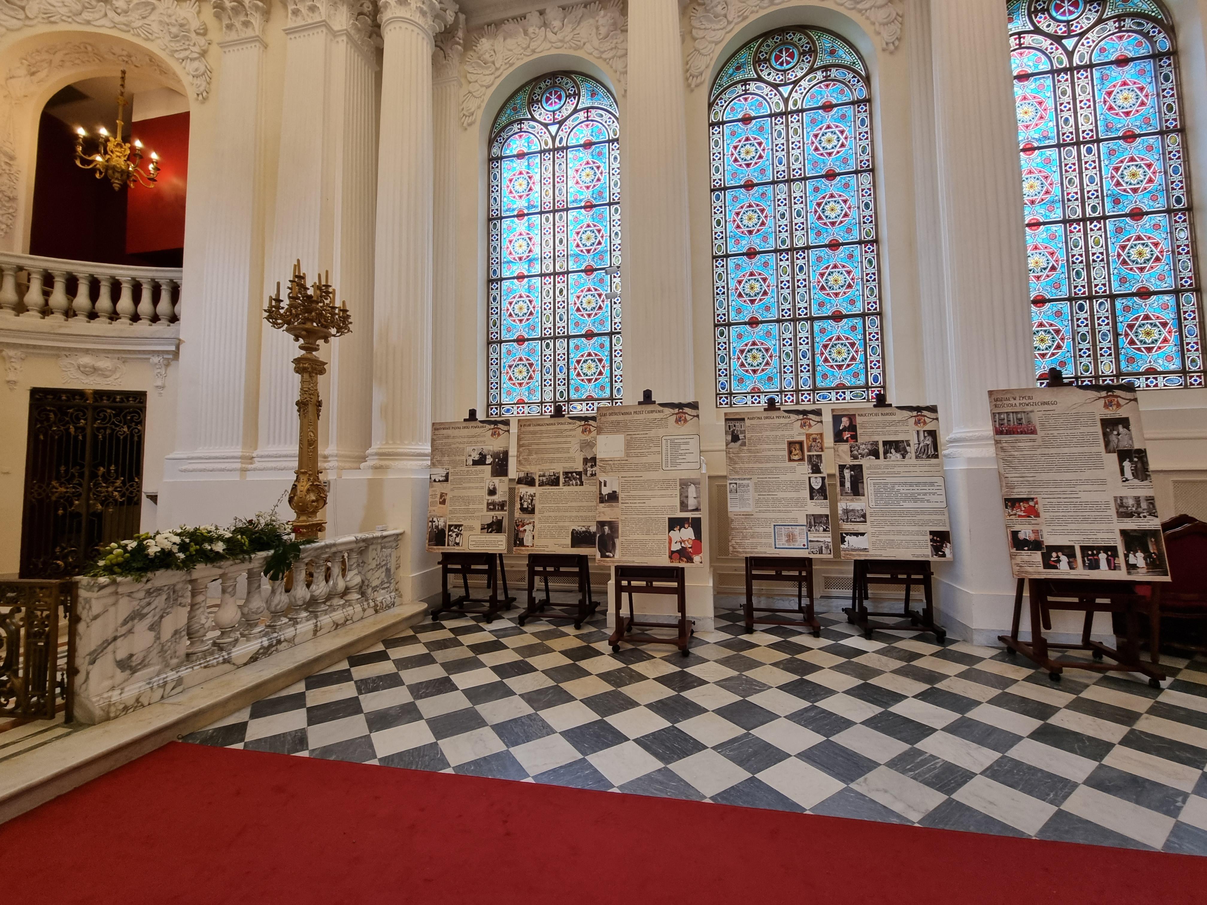 Wystawa w kaplicy pałacowej
