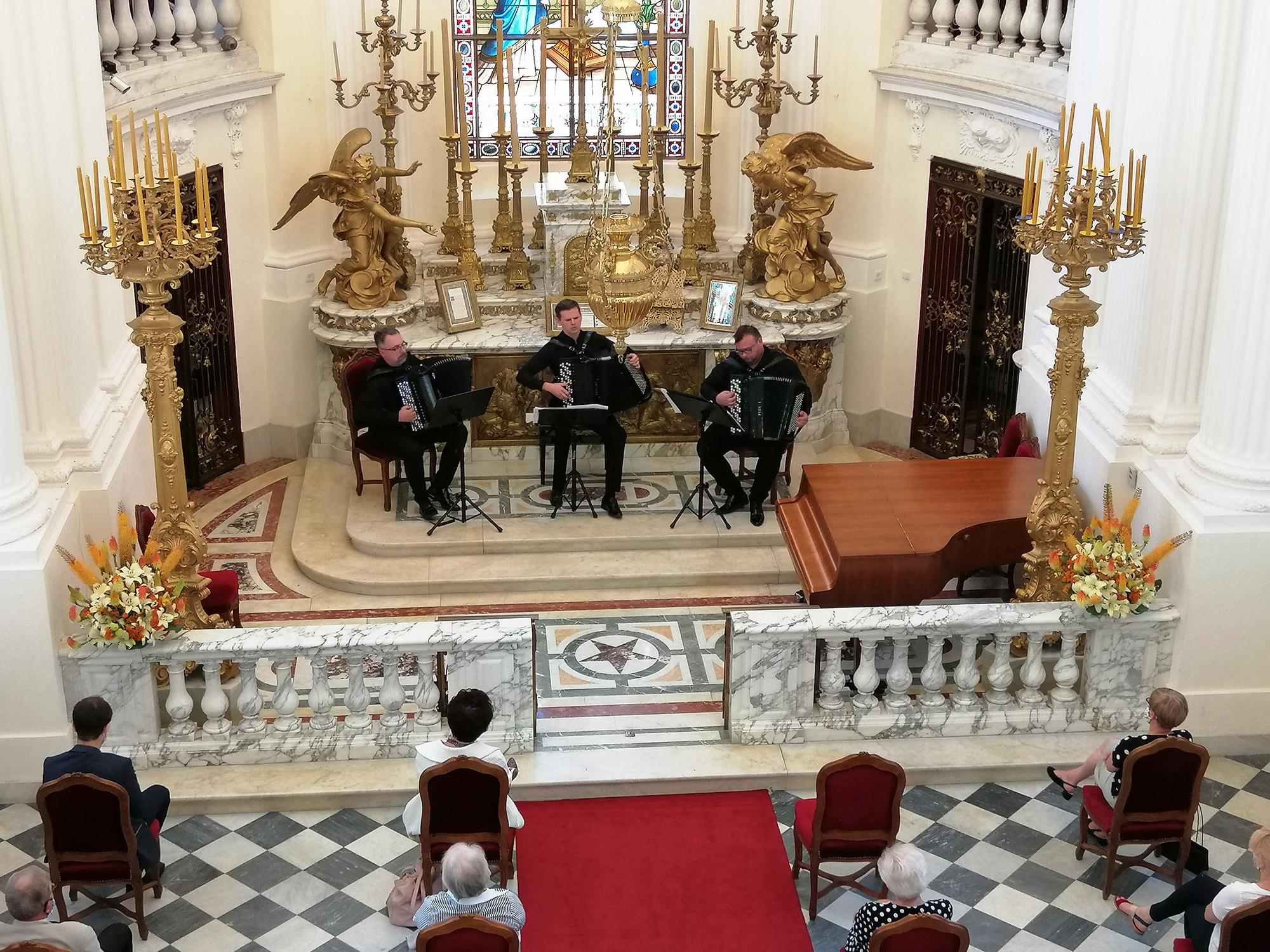 "Koncert kameralny ""Chopin University Accordion Trio"" – 4 lipca 2020 r."
