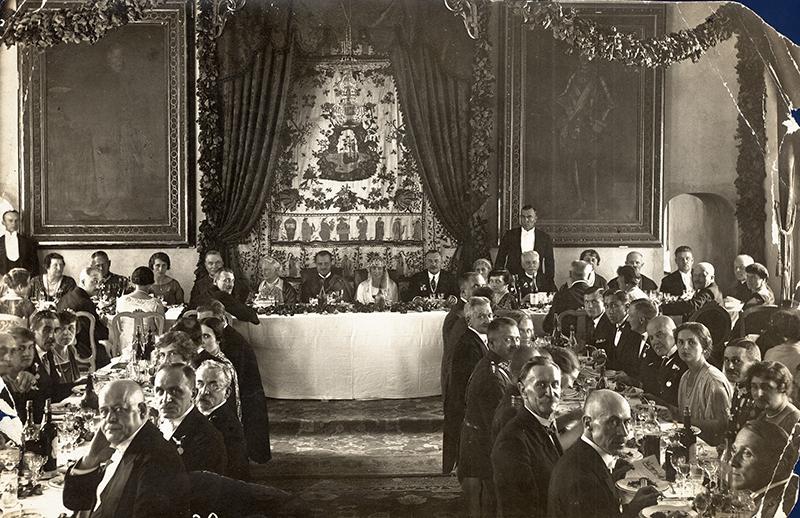 Fotografia ze ślubu Michała i Marii Zamoyskich