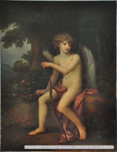 Artyście przypisuje się także skopiowanie portretu Henryka Lubomirskiego jako Kupidyna z dzieła Angeliki Kauffmann