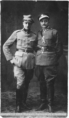 Aleksander Leszek Zamoyski z bratem