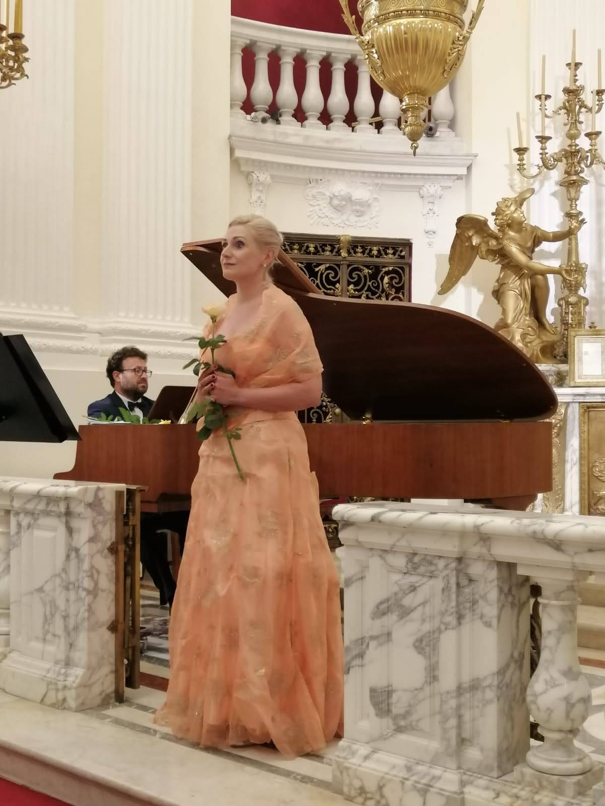 Recital wokalny: Małgorzata Grzegorzewicz-Rodek (sopran), Tomasz Krawczyk (fortepian) – 11 lipca 2020 r.