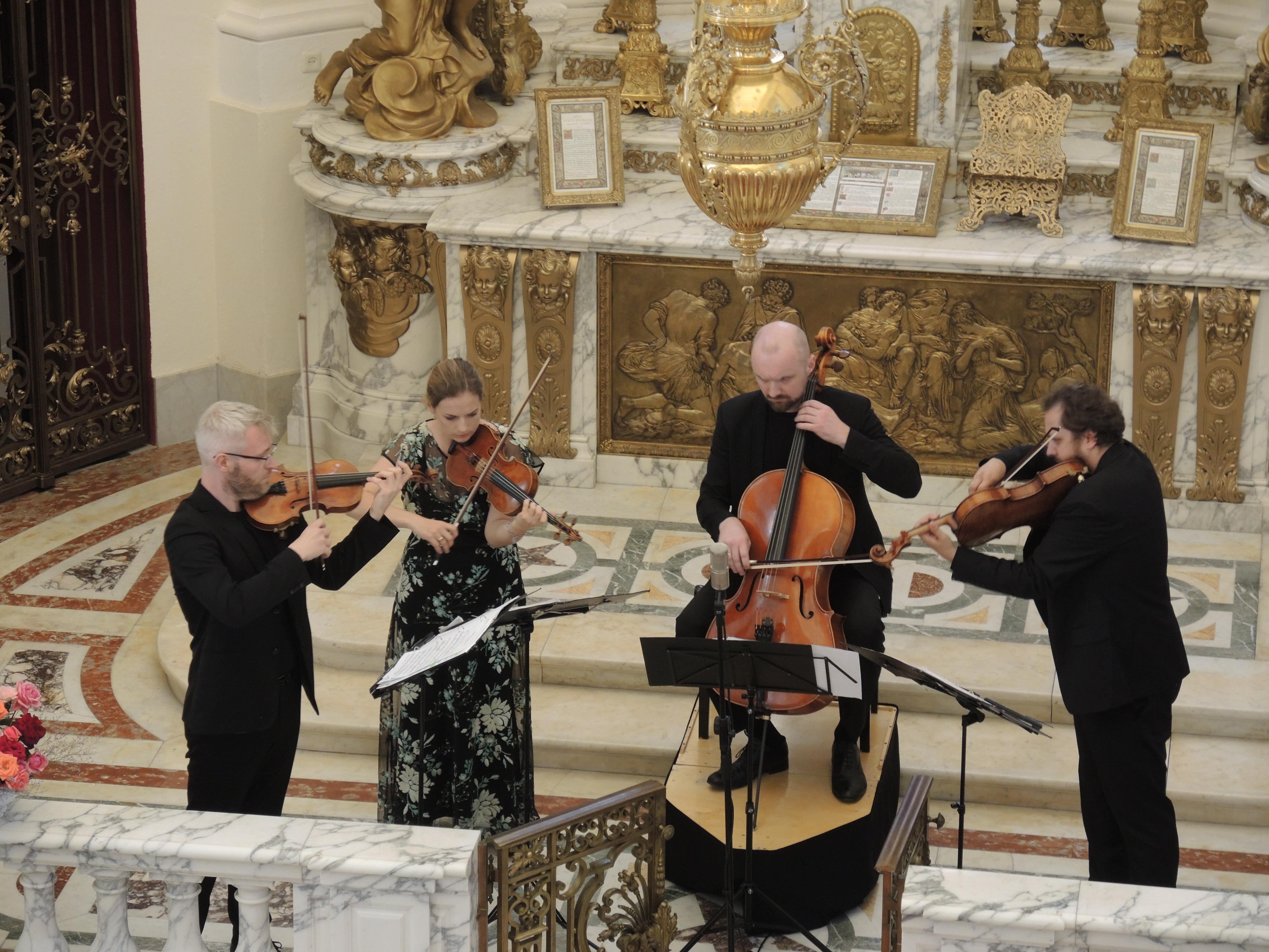 "Koncert kameralny ""Meccore String Quartet"" – 1 sierpnia 2020 r."
