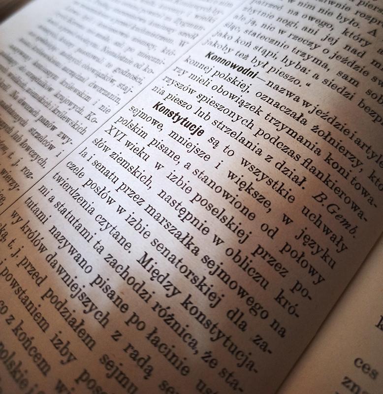 Tydzień Bibliotek - 230. rocznica uchwalenia Konstytucji 3 Maja